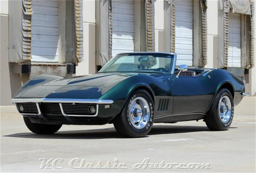 1968 Chevrolet Corvette 350hp Numbers Matching For Sale (picture 1 of 6)