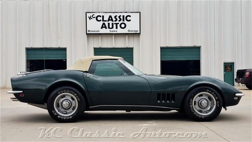 1968 Chevrolet Corvette 350hp Numbers Matching For Sale (picture 2 of 6)