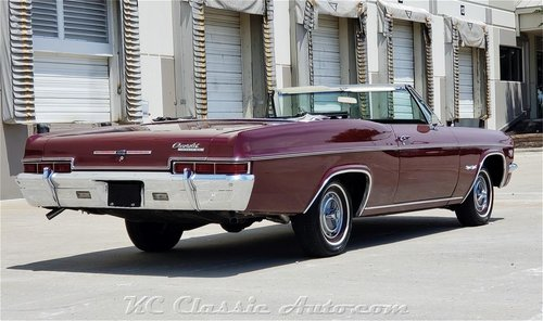1966 Chevrolet Impala SS Conv Every Option #s Match 396 For Sale (picture 2 of 6)