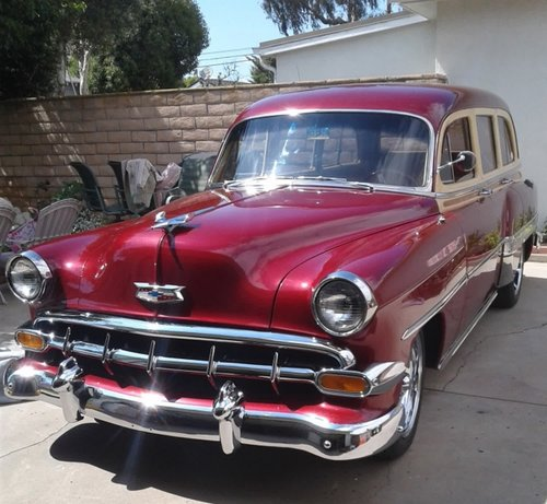 1954 Chevrolet Bel Air Townsman Tin Woody For Sale (picture 2 of 5)