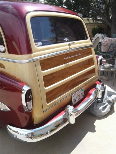 1954 Chevrolet Bel Air Townsman Tin Woody For Sale (picture 3 of 5)