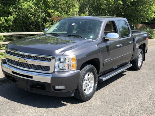 2011 Chevrolet Silverado K1500 Crew Cab 4x4 new import For Sale (picture 1 of 6)