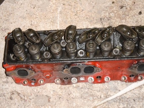 1972 Pair of small block cylinder heads for sale. For Sale (picture 1 of 5)