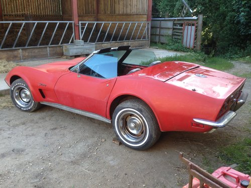 1973 manual convertible 350 cu in corvette For Sale (picture 2 of 6)
