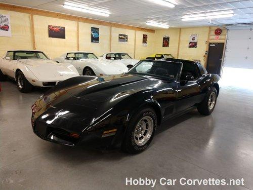 1981 Black Black Corvette Automatic Fun Driver For Sale (picture 2 of 6)