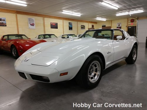 1974 White Corvette Tan Int 4spd for sale For Sale (picture 1 of 6)
