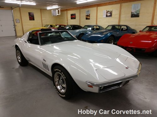 1969 White Corvette 4spd For Sale For Sale (picture 1 of 6)