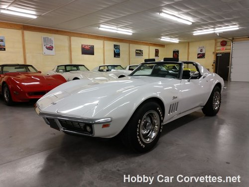 1969 White Corvette 4spd For Sale For Sale (picture 2 of 6)