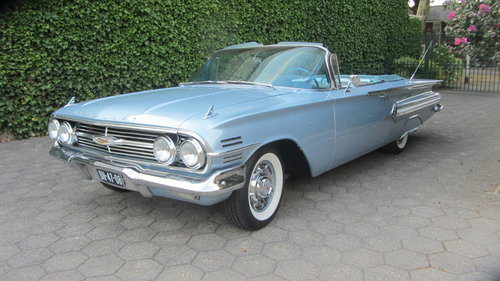 6150 Chevrolet Impala V 8 Convertible 1960 & 45 USA Classics For Sale (picture 1 of 6)