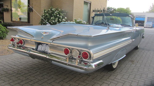 6150 Chevrolet Impala V 8 Convertible 1960 & 45 USA Classics For Sale (picture 2 of 6)