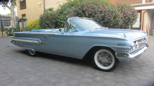 6150 Chevrolet Impala V 8 Convertible 1960 & 45 USA Classics For Sale (picture 4 of 6)