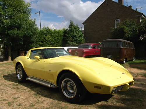 1979  Corvette Coupe 350, 5700cc V8 Engine, Unfinished Project SOLD (picture 1 of 6)
