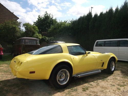 1979  Corvette Coupe 350, 5700cc V8 Engine, Unfinished Project SOLD (picture 2 of 6)