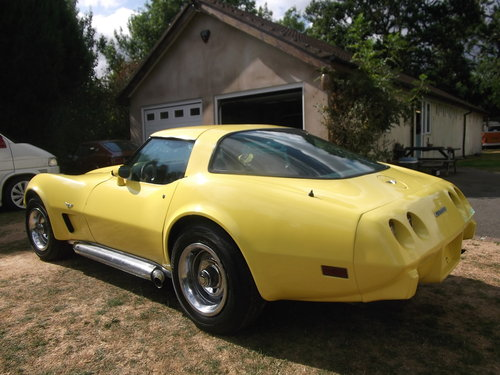 1979  Corvette Coupe 350, 5700cc V8 Engine, Unfinished Project SOLD (picture 3 of 6)