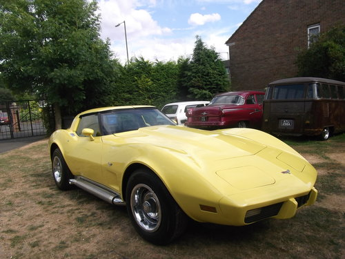 1979  Corvette Coupe 350, 5700cc V8 Engine, Unfinished Project SOLD (picture 4 of 6)