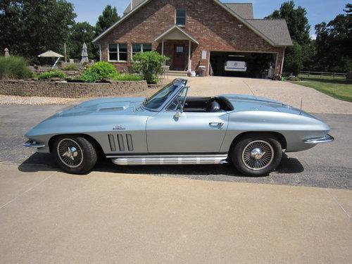 1966 Corvette Big Block 427 V8 425 HP For Sale (picture 1 of 6)