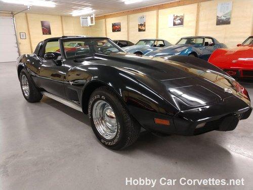 1978 Black Black corvette  For Sale (picture 1 of 6)