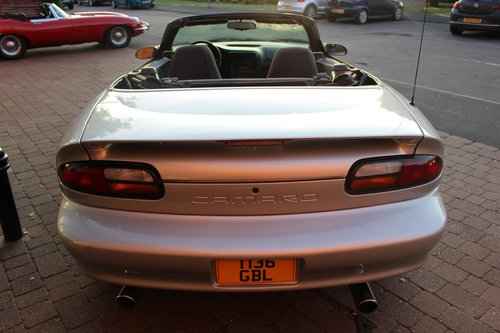 1999 Chevrolet Camaro Convertible 3.8 V6 4-speed Auto SOLD (picture 4 of 6)
