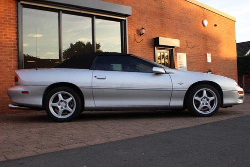 1999 Chevrolet Camaro Convertible 3.8 V6 4-speed Auto SOLD (picture 5 of 6)