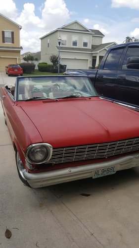 1963 Chevrolet Nova Convertible  SOLD (picture 2 of 6)