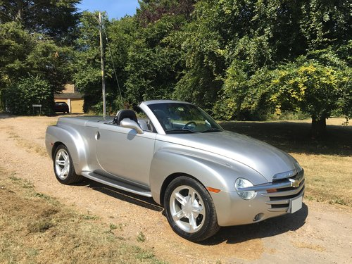 2005 Chevrolet SSR 5.3 LHD For Sale (picture 1 of 6)