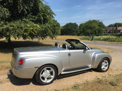 2005 Chevrolet SSR 5.3 LHD For Sale (picture 2 of 6)