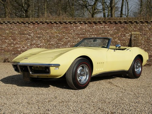 1968 Chevrolet Corvette C3 Convertible with AC! For Sale (picture 1 of 6)