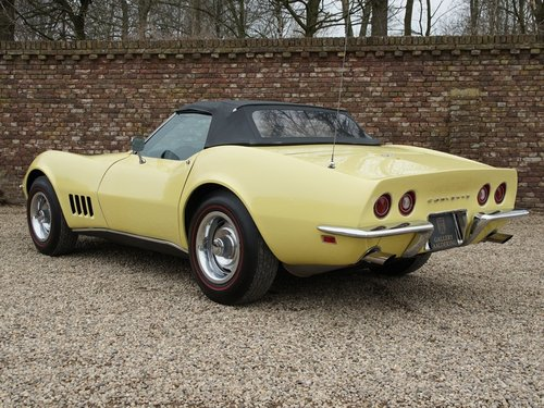 1968 Chevrolet Corvette C3 Convertible with AC! For Sale (picture 2 of 6)