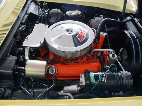 1968 Chevrolet Corvette C3 Convertible with AC! For Sale (picture 4 of 6)