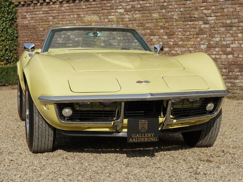 1968 Chevrolet Corvette C3 Convertible with AC! For Sale (picture 5 of 6)