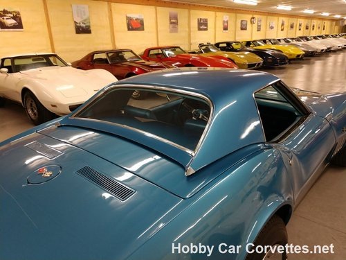 1969 Blue Blue Corvette Convertible For Sale For Sale (picture 5 of 6)