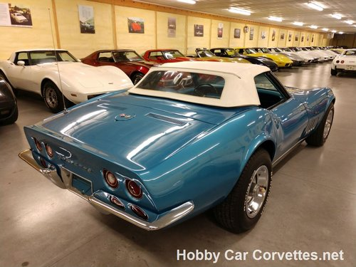 1969 Blue Blue Corvette Convertible For Sale For Sale (picture 6 of 6)