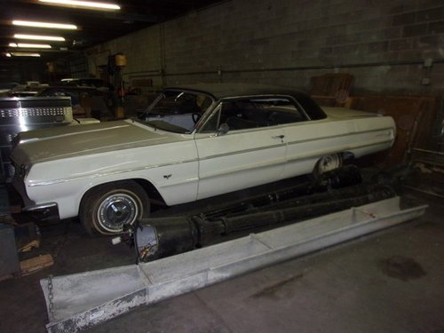 1964 Chevrolet Impala 2DR HT For Sale (picture 1 of 6)