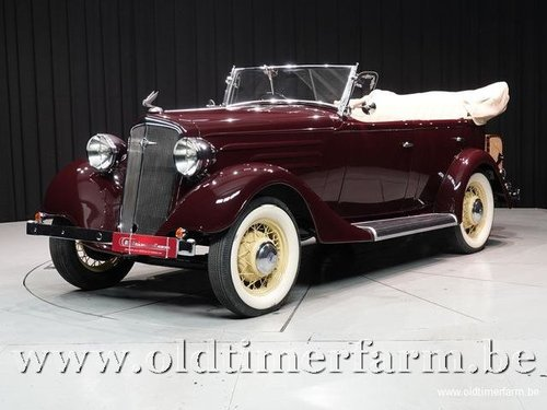 1935 Chevrolet Standard Six Phaeton '35 For Sale (picture 1 of 6)