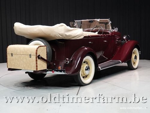 1935 Chevrolet Standard Six Phaeton '35 For Sale (picture 2 of 6)