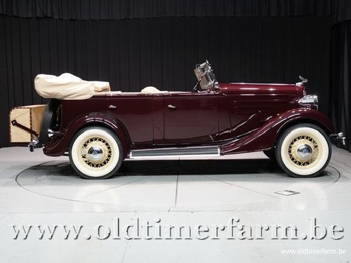 1935 Chevrolet Standard Six Phaeton '35 For Sale (picture 3 of 6)
