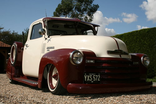 1952 Chevrolet Custom,Hot Rod,Pick Up Truck. Unique build. For Sale (picture 1 of 6)