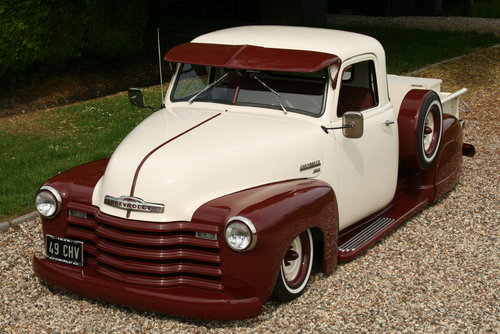 1952 Chevrolet Custom,Hot Rod,Pick Up Truck. Unique build. For Sale (picture 3 of 6)
