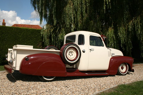 1952 Chevrolet Custom,Hot Rod,Pick Up Truck. Unique build. For Sale (picture 5 of 6)