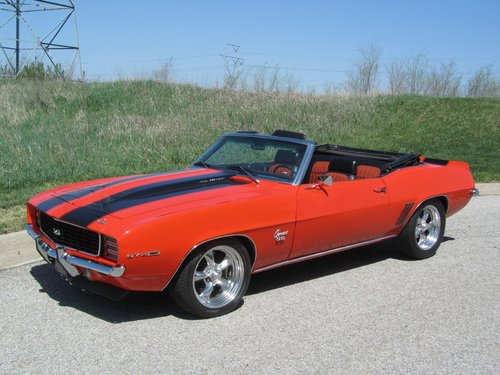 1969 Chevrolet Camro RS/SS Converrtible  For Sale (picture 1 of 6)
