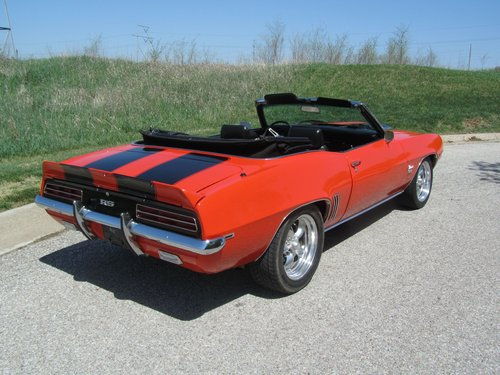 1969 Chevrolet Camro RS/SS Converrtible  For Sale (picture 2 of 6)