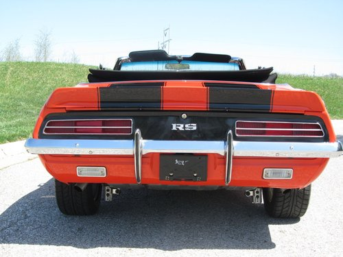 1969 Chevrolet Camro RS/SS Converrtible  For Sale (picture 3 of 6)