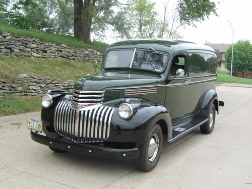 1946 Chevrolet 3800 Panel Truck SOLD (picture 1 of 6)