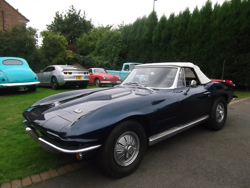1964 Corvette Stingray Convertible, 4 Speed Manual SOLD (picture 3 of 6)