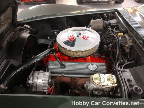 1969 Fathom Green corvette Convertible 4spd For Sale For Sale (picture 3 of 6)