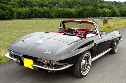 1966 CHEVROLET CORVETTE STINGRAY BEAUTIFUL MUSCLE CAR For Sale (picture 3 of 6)