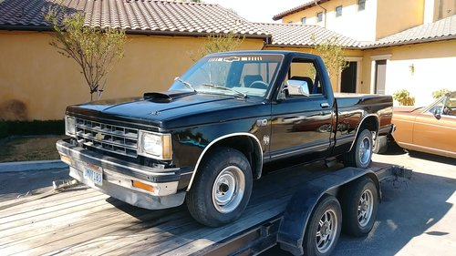 1988 chevrolet v8 s10 pickup SOLD (picture 1 of 1)