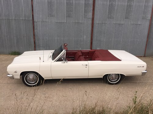 Lovely 1965 Chevrolet Chevelle Malibu SS Convertible For