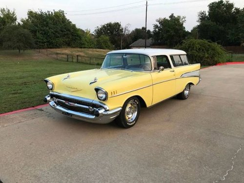 1957 Chevrolet Bel Air Nomad Wagon * Yellow For Sale (picture 1 of 6)