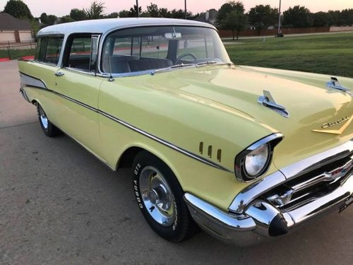 1957 Chevrolet Bel Air Nomad Wagon * Yellow For Sale (picture 2 of 6)